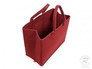 Filztasche, Schultertasche, Trachtentasche, Filz Tasche (37x19x30)