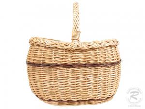 Einkaufskorb Handkorb Weide Korb ungefüttert (40x33x42)