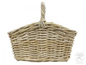 Einkaufskorb Handkorb Rohr Korb ungefüttert (41x27x38)