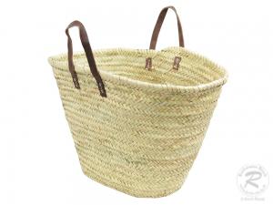 Handtasche Korbtasche robuste Tasche Natur (55x20x35)