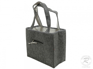 Filztasche, Schultertasche, Trachtentasche, Filz Tasche (38x20x32)