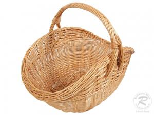 Einkaufskorb Handkorb Weide Korb ungefüttert (50x36x40)