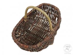 Einkaufskorb Handkorb Weide Korb ungefüttert (26x17x12/20)
