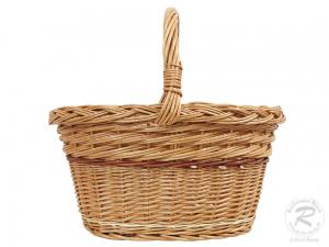 Einkaufskorb Handkorb Weide Korb ungefüttert (43x30x39)