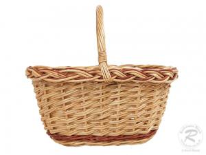 Kinder Einkaufskorb Handkorb Weide Korb ungefüttert (30x23x27)