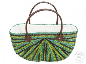 Handtasche Korbtasche robuste Tasche (46x18x42)