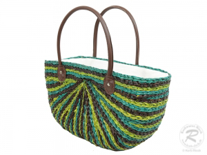 Handtasche Korbtasche robuste Tasche (45x15x40)