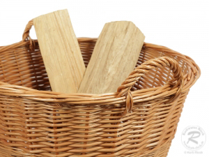 Holzkorb, Tragekorb, Pflanzkorb, Gartenkorb, Korb ungefüttert (D:58)