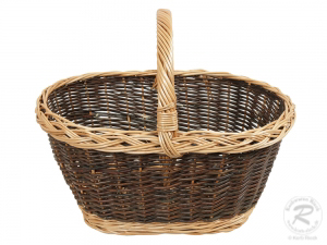 Einkaufskorb Handkorb Weide Korb ungefüttert (48x33x40)