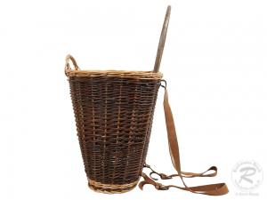Tragekorb, Kiepe, Rucksackkorb aus Weide (44x37x68)