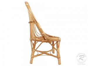 Korbsessel, Kinderstuhl aus Weide (42x40x73)