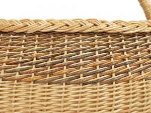 Einkaufskorb Handkorb Weide Korb ungefüttert (46x31x33)