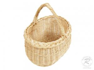 Wäscheklammerkorb, kleiner Korb für Wäscheklammern ungefüttert (22x18x26)