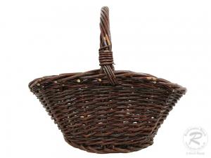 Einkaufskorb Handkorb Weide Korb ungefüttert (29x25x27)