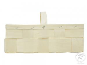 Handkorb, Beerenkorb, Erntekorb, Dekokorb aus Holzspan (30x20x18)