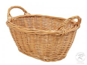 Wäschekorb aus Weide. Korb für Wäsche (30x23x16)