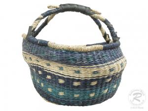 Korbtasche, Handtasche, robuste Tasche aus Seegras (D:40)