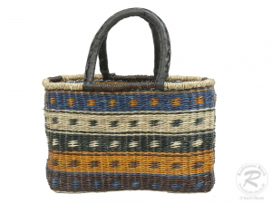 Korbtasche, Handtasche, Tasche aus Seegras (40x18x27)
