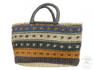 Korbtasche, Handtasche, Tasche aus Seegras (47x20x32)
