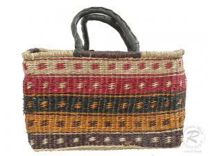 Korbtasche, Handtasche, Tasche aus Seegras (45x19x30)