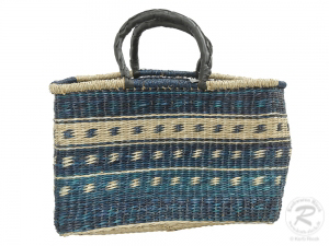 Korbtasche, Handtasche, robuste Tasche aus Seegras (47x20x32)