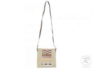 Schultertasche Umhängetasche Tasche mit Reißverschluss (24x2x24)