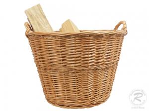 Holzkorb, Tragekorb, Pflanzkorb, Gartenkorb, Korb ungefüttert (D:50)