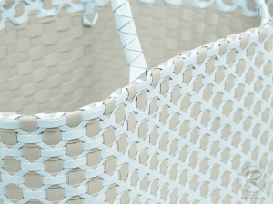 Kunststofftasche moderne Tasche aus Kunststoff (40x25x50)