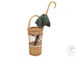 Regenschirmständer, Spazierstockständer aus Weide (D:24)