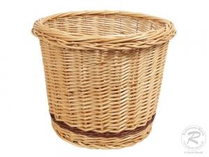Brotkorb, Dekokorb, Papierkorb, Übertopf Korb aus Weide (D:40cm H:31cm)  Einzelstück