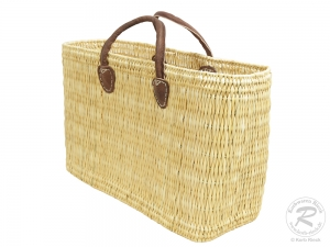 Handtasche Korbtasche robuste Tasche (45x17x32/41)