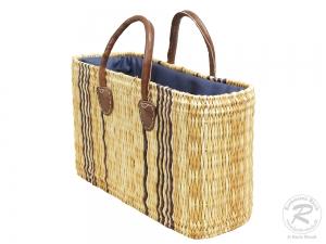 Handtasche Korbtasche robuste Tasche (40x16x27/38)