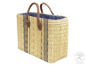 Handtasche Korbtasche robuste Tasche (45x18x31/41)