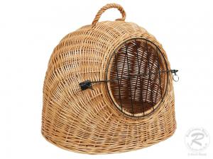 Transport Korb aus Weide, Tierkorb, Katzenhöhle Korb für Tiere