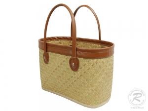 Handtasche Korbtasche robuste Tasche (40x20x25/42)