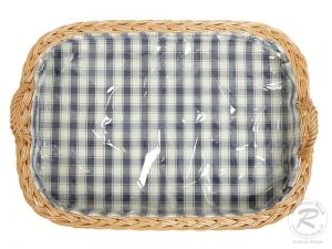 Tablett aus Weide, Trage - Korb - Tablett (54x38x8/13)