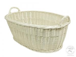 Wäschekorb aus Weide Korb für Wäsche (68x50x25/31)