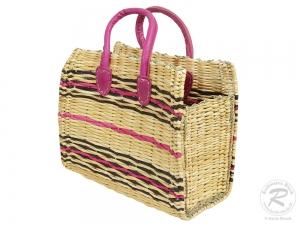 Handtasche Korbtasche robuste Tasche (37x16x29/40)