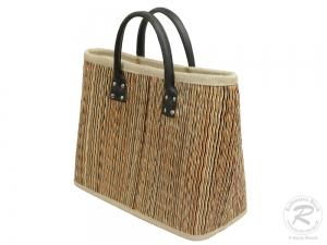 Korbtasche, Handtasche Tasche aus Seegras (39x16x31/42)