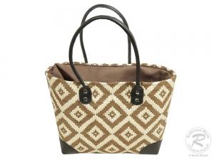 Korbtasche, Handtasche Tasche aus Bast (33x15x25/45)