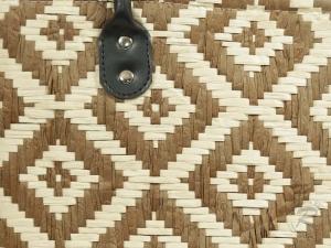 Korbtasche, Handtasche Tasche aus Bast (40x18x30/48)