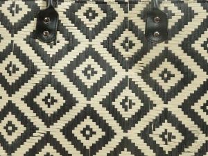 Korbtasche, Handtasche Tasche aus Bast (45x21x30/48)