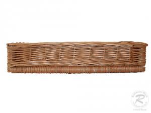 Regalkorb, Schrankkorb, Dekokorb  43x31x9 cm